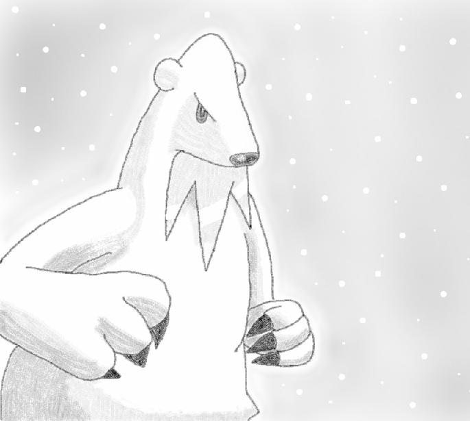 Beartic by Glen-i
