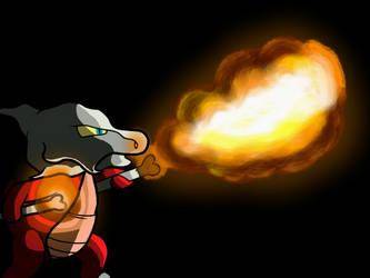 Flamethrower! by Glen-i