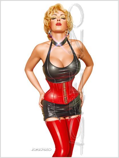 Red and Black by LorenzoDiMauro