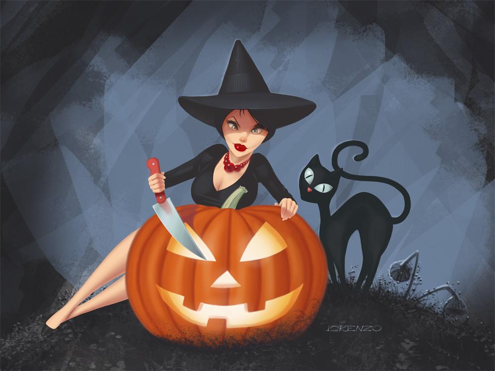 Halloween-eCard by LorenzoDiMauro