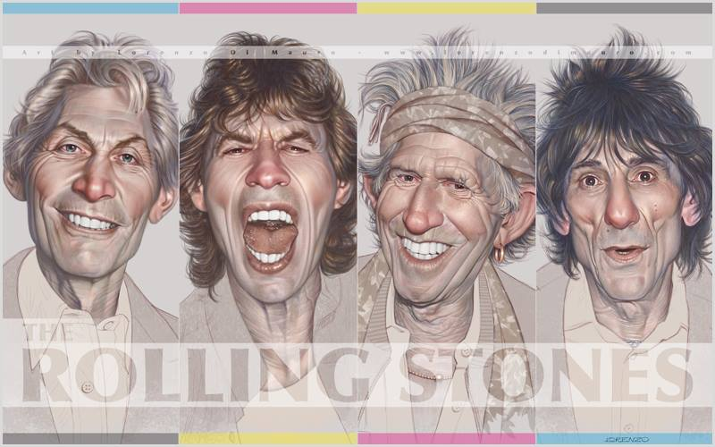 Rolling Stones free wallpaper by LorenzoDiMauro