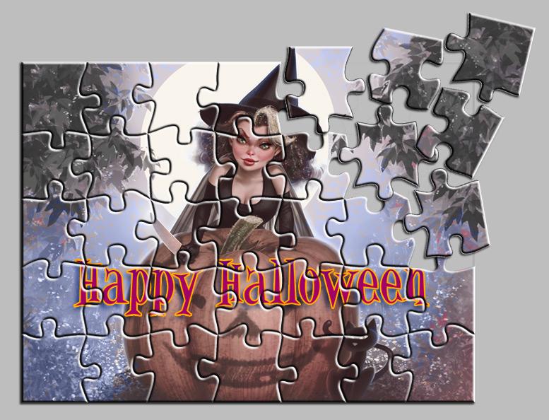 Halloween Puzzle by LorenzoDiMauro