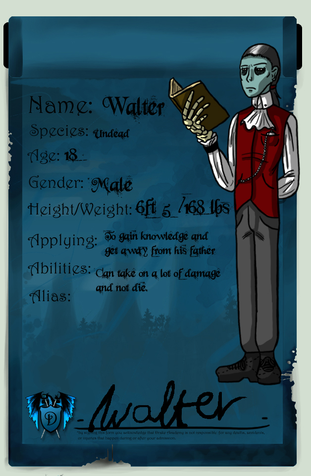 DA: Walter by Clock-workable