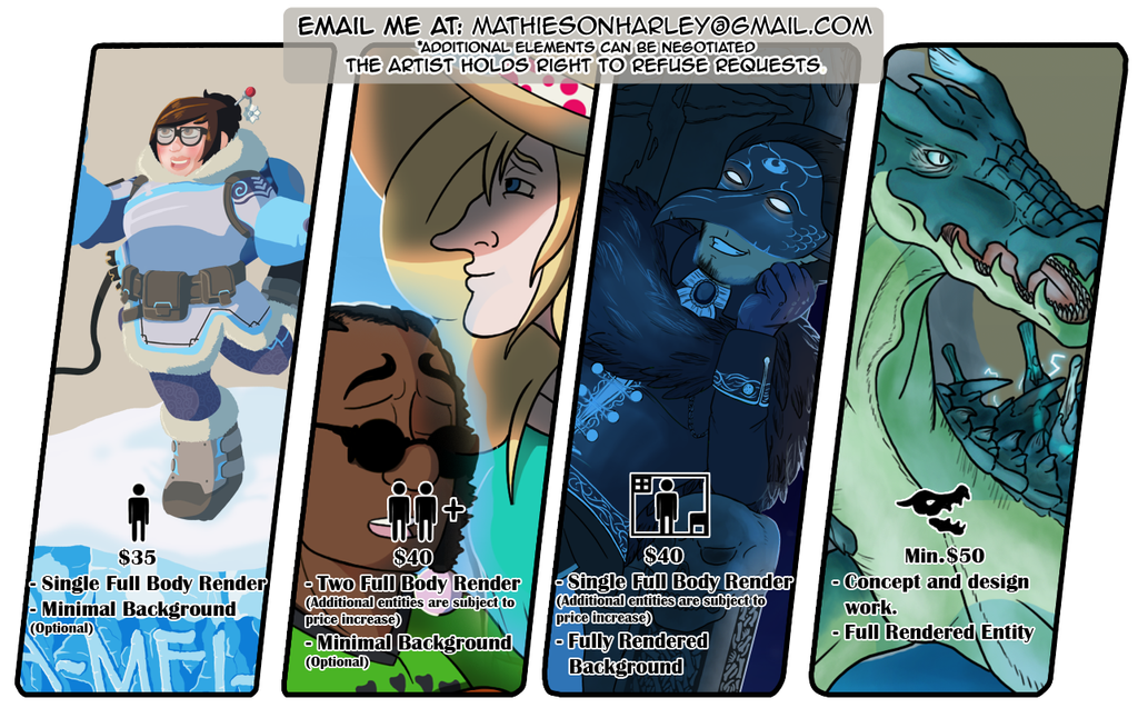 Commision Info - 2 by Clock-workable