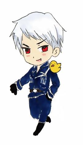 Prussia chibi by Bambily