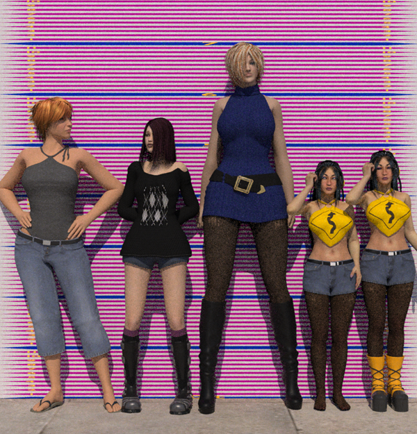 Tall Girls Height Comparison