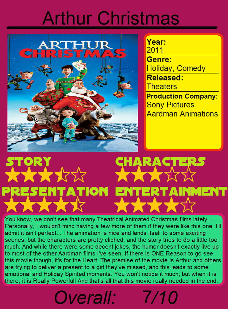 Arthur Christmas Characters.Initial Thoughts Arthur Christmas By Jimation Aka Lx On
