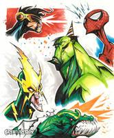 Marvel Grabbag by CreatureBox