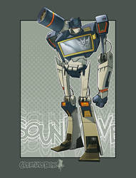 Soundwave by CreatureBox