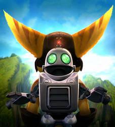 Ratchet + Clank Future by CreatureBox