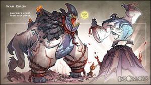 War Grok by CreatureBox