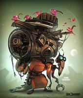 Junk Trader by CreatureBox