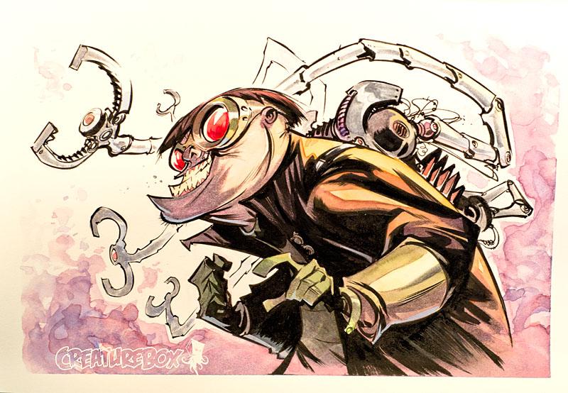 Doc Ock by CreatureBox