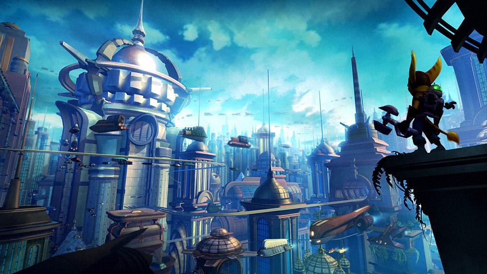 Metropolis Vista by CreatureBox
