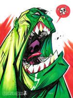 Hulk Scream by CreatureBox