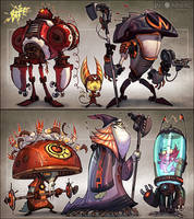 Inhabitants by CreatureBox