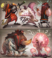 Inhabitants 2 by CreatureBox