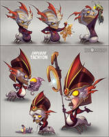Fighting Tachyon 2 by CreatureBox