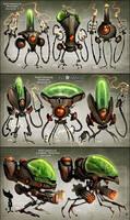 Nefarious Minions by CreatureBox