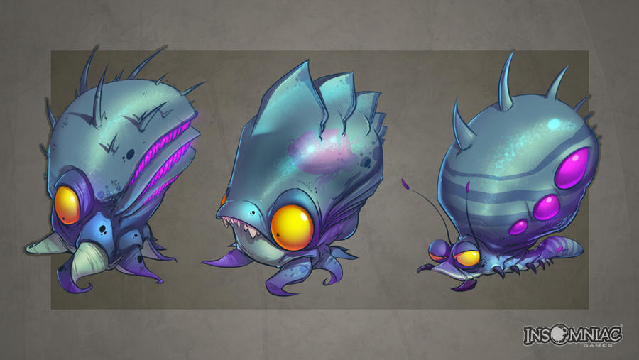 ratchet and clank zombie jellyfish by creaturebox on