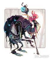Tharpod Elder by CreatureBox