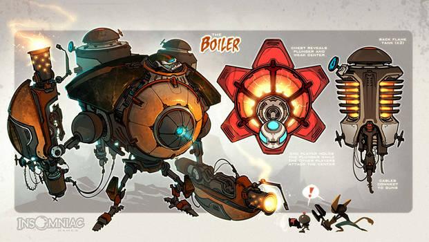 The Boiler!