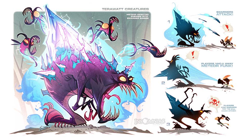 The Creeps of Terawatt by CreatureBox