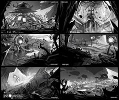 Journey Around the Moon by CreatureBox