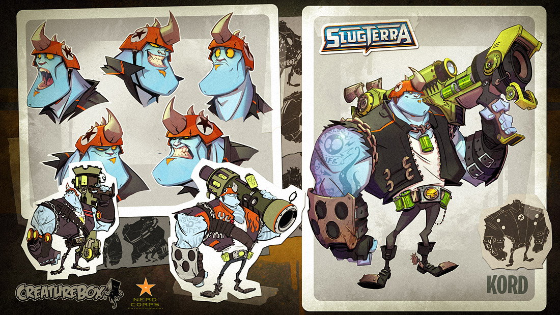 Slugterra Development 3 by CreatureBox