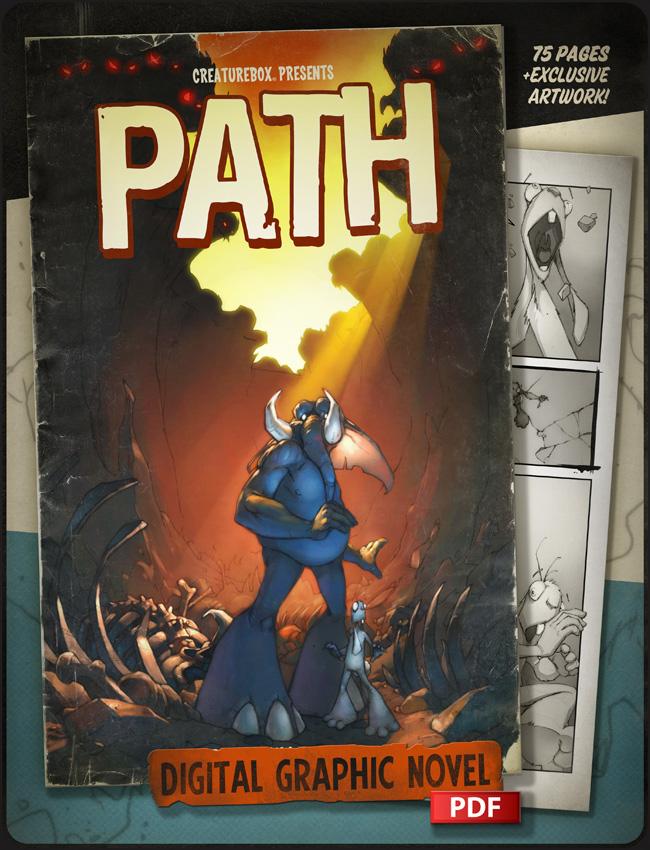 PATH: A Digital Graphic Novel by CreatureBox