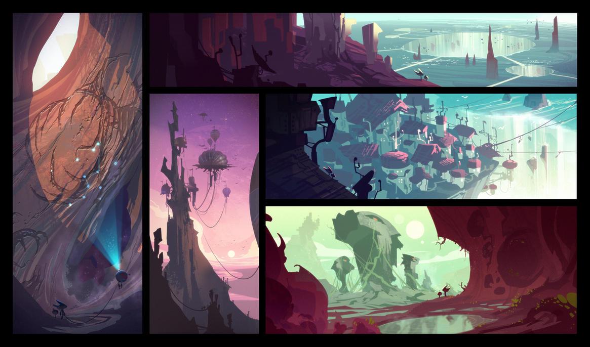 Planet Yerek Color Script by CreatureBox