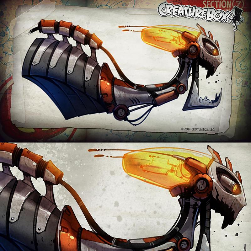 Wrath of Skelematrix by CreatureBox