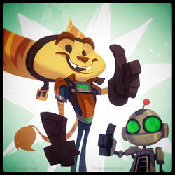 Ratchet and Clank Launch Day by CreatureBox