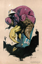 The Maxx: Heroescon AA 1028 / 1029 by CreatureBox