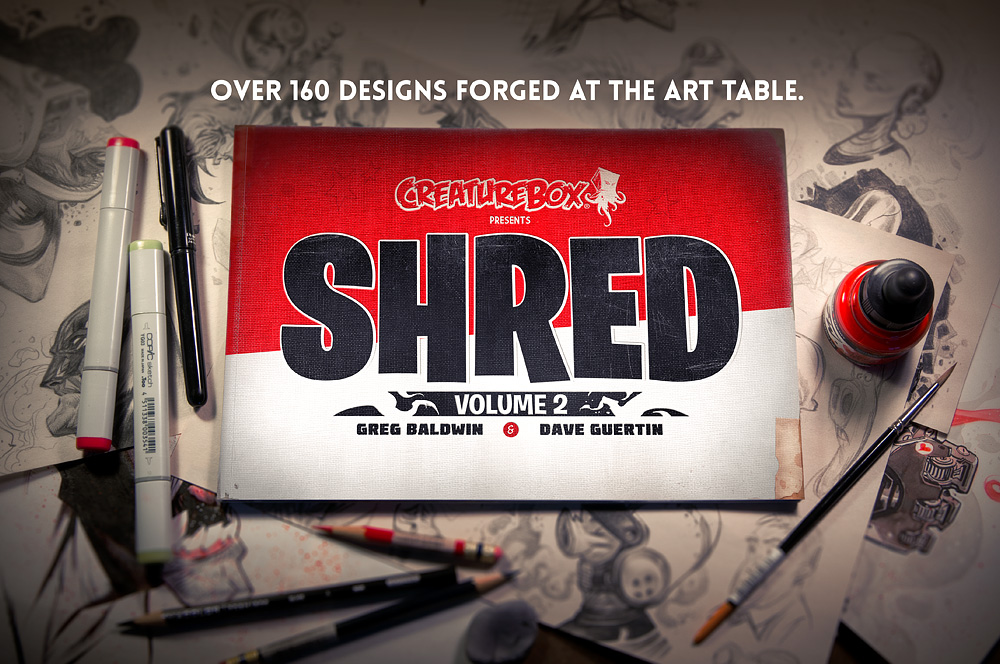 SHRED: Volume 2 by CreatureBox