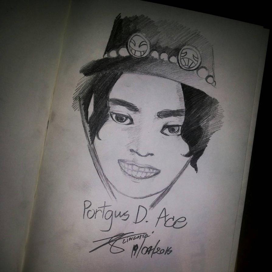Portgus D. Ace by ZINNYFILL