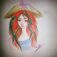 little girl by ZINNYFILL