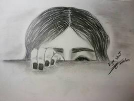 Eyes shut by ZINNYFILL