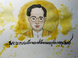 King Of Thailand by ZINNYFILL