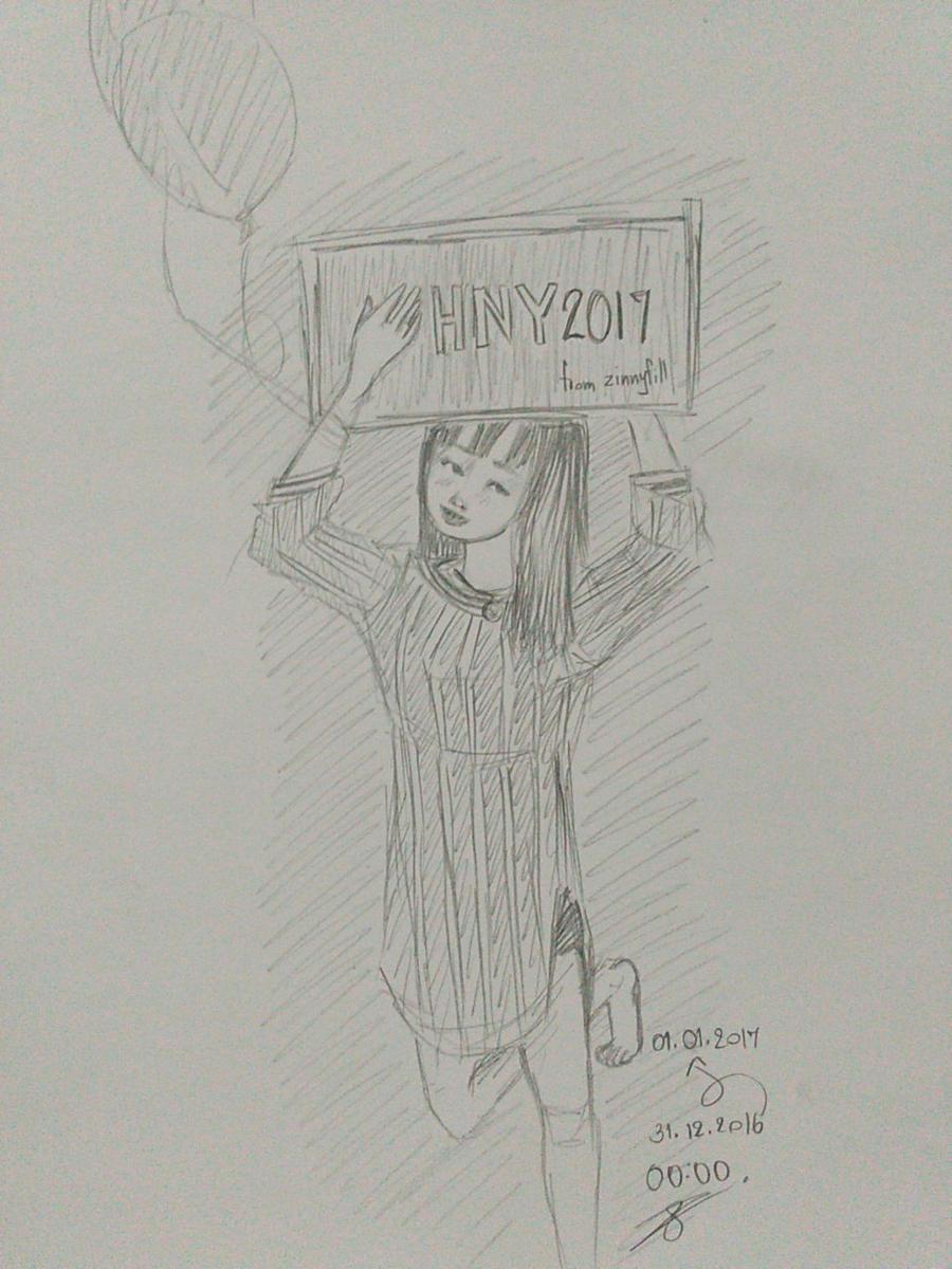 hny2017 by ZINNYFILL