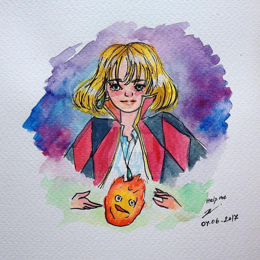 Howl and his Heart by ZINNYFILL
