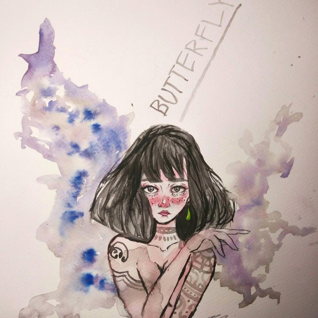 Butterfly by ZINNYFILL