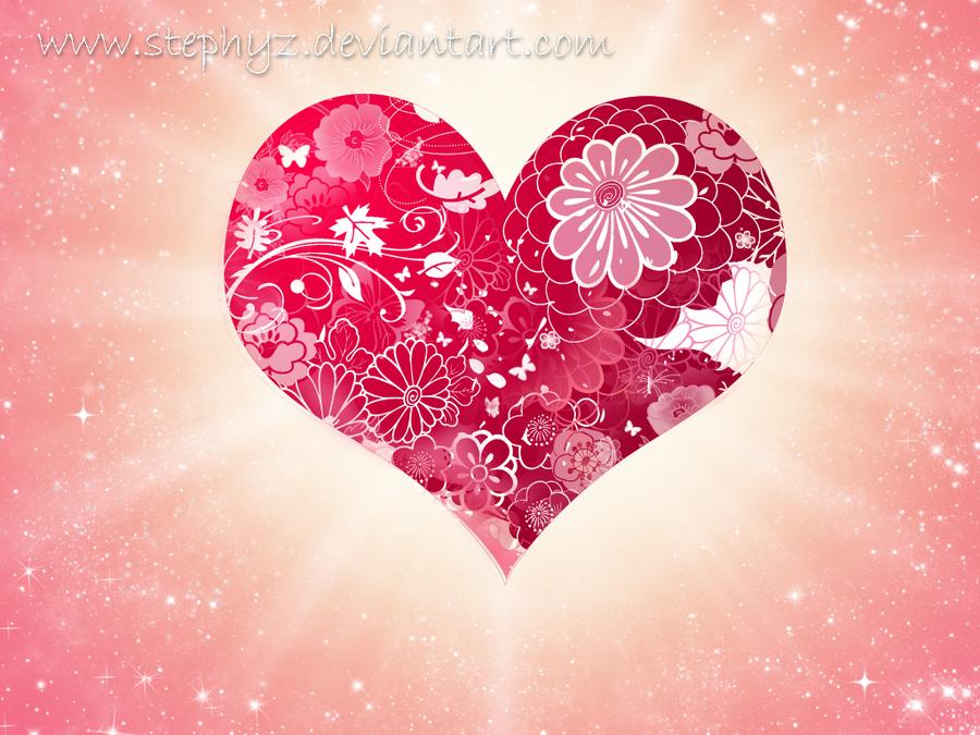Valentine's Heart by Stephyz