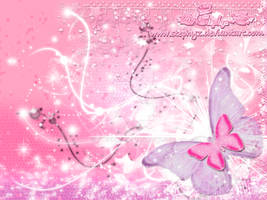 Pink Butterfly Crush