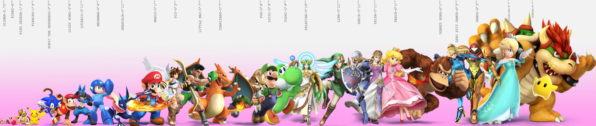 Giga Bowser Sprites Super Smash Bros. (Vid...