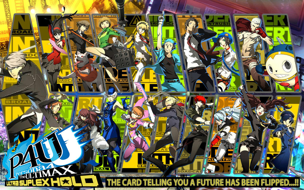 Persona 4 Arena Ultimax Wallpaper P4 Characters By