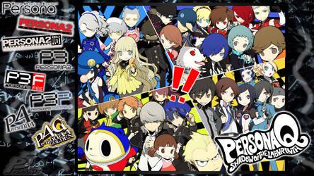 Shin Megami Tensei: Persona by KumaOniOni
