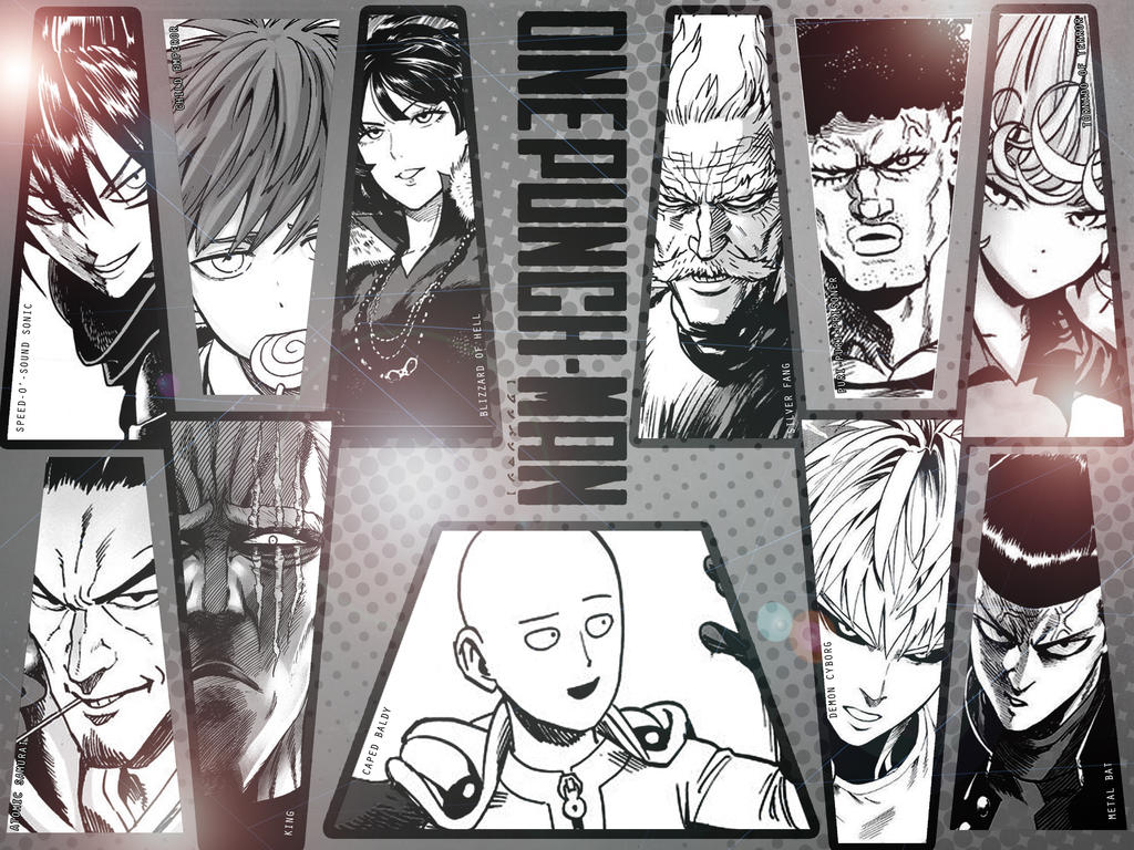 One Punch Man Wallpaper By Kumaonioni
