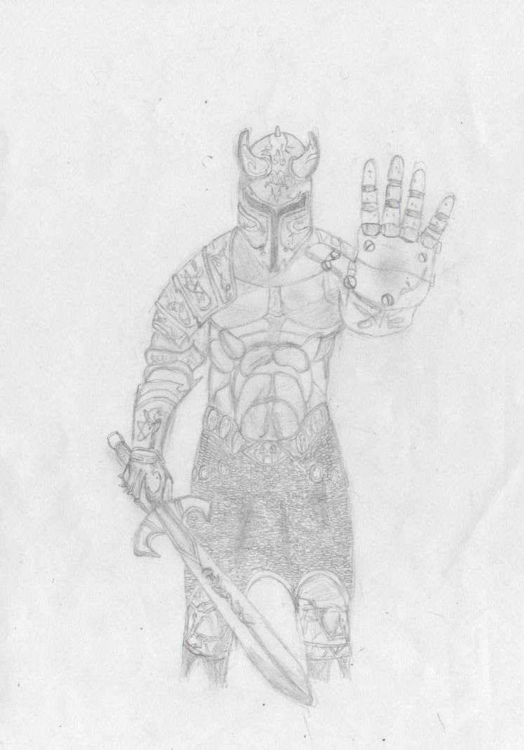 Scribble Drawing Quest : Gorl deltora quest by xgeua on deviantart