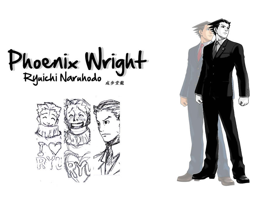 Phoenix Wright Wallpaper By DrivenByDesperation